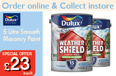Smooth Masonry Paint 5L  -  – Now Only £23.00