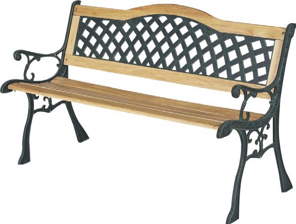 Single Bend Garden Bench  – Now Only £49.00