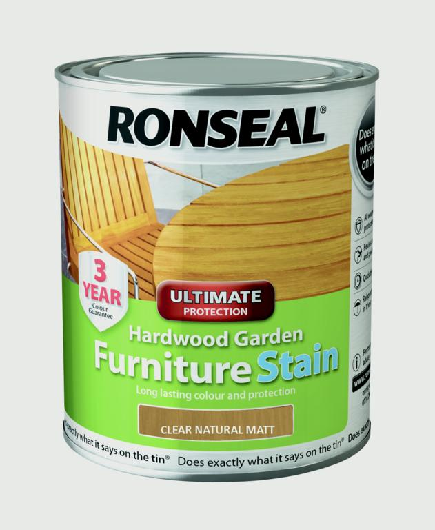 Hardwood Furniture Stain 750ml  -  – Now Only £12.00