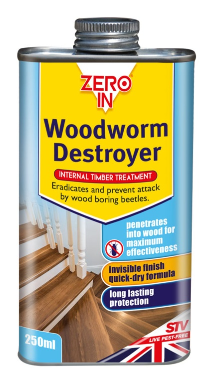 Woodworm Destroyer 250ml Can – Now Only £4.00