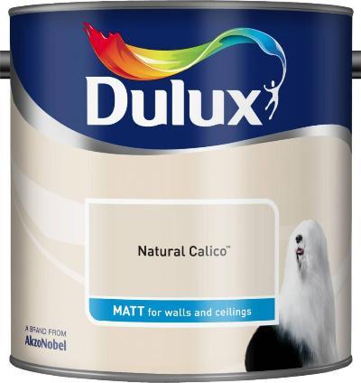 2.5 Litre Matt Emulsion - Natural Calico – Now Only £14.00