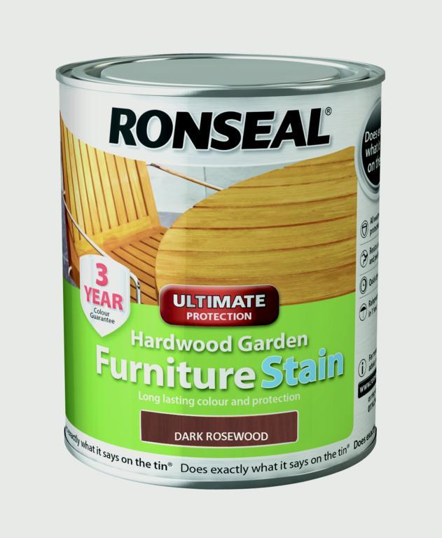 Hardwood Furniture Stain 750ml  - Dark Rosewood – Now Only £12.00