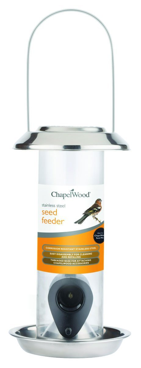 Stainless Steel Seed Feeder - 20cm – Now Only £4.00