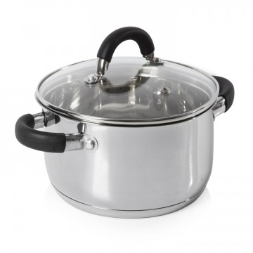 Essentials Essentials 24cm Casserole Dish Stainless Steel – Now Only £15.00