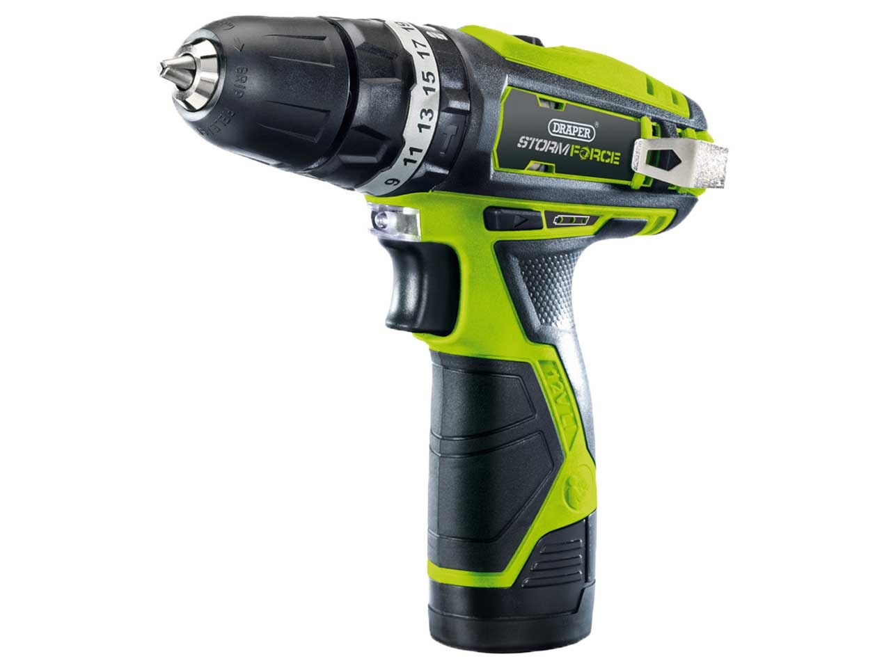 Storm Force® 10.8V Cordless Hammer Drill with Li-ion Battery – Now Only £59.00
