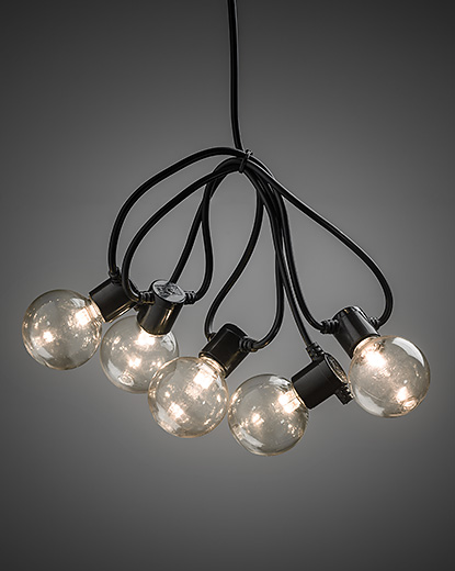 Light Set with 20 Round LED Bulbs -  – Now Only £29.00