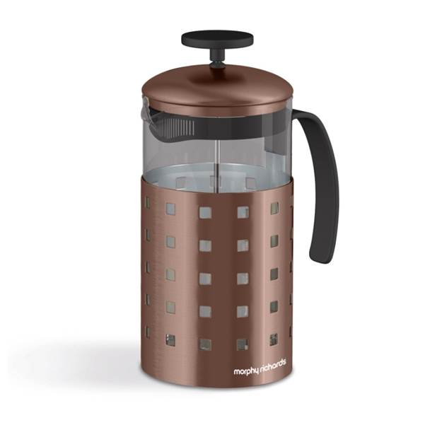 Accents 8 Cup Cafetiere Metallic Copper – Now Only £12.00