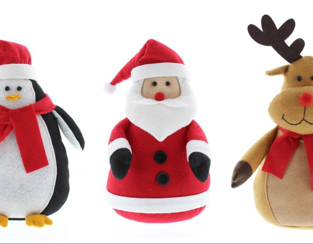 Christmas Pals Door Stops - 30cm – Now Only £8.00