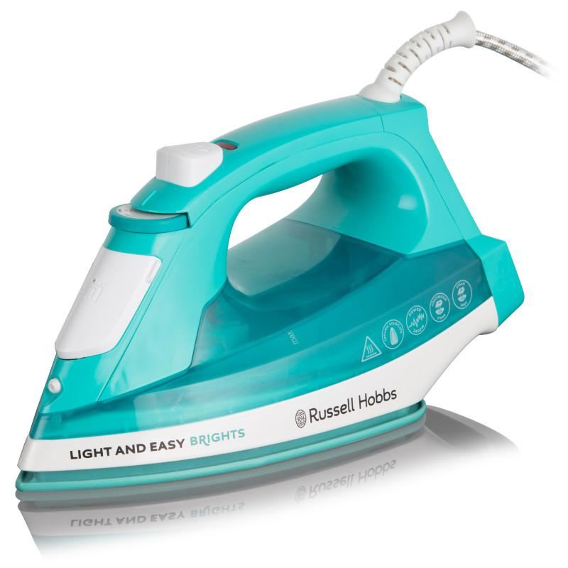 2400w Light and Easy Brights Iron - Aqua – Now Only £18.00