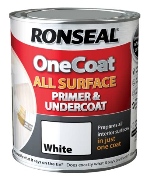 One Coat All Surface Primer and Undercoat 750ml – Now Only £10.00