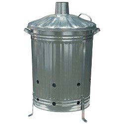 Galvanised Incinerator – Now Only £19.00