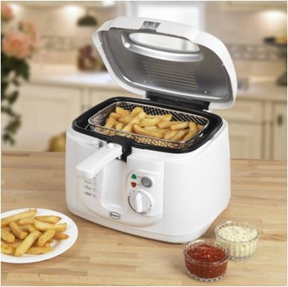 2.5L Square White Fryer – Now Only £27.00