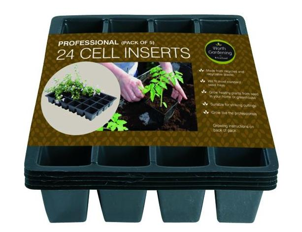 Professional 24 Cell Inserts (5) – Now Only £3.00