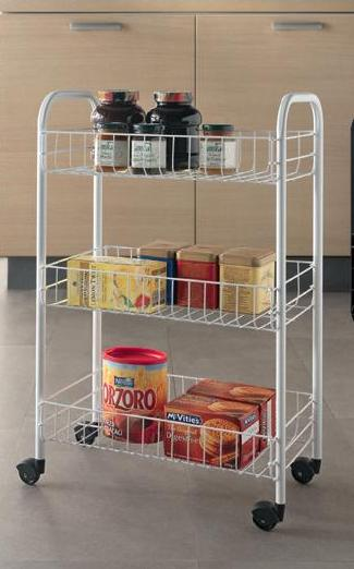 Siena 3 Tier Storage Cart – Now Only £12.00