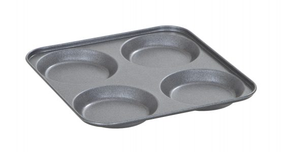 Non Stick 4 cup Yorkshire Pudding Tray – Now Only £2.00