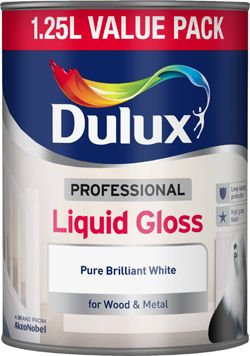 Professional Liquid Gloss Pure Brilliant White 1.25L – Now Only £11.00