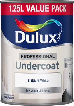 Professional Undercoat Brilliant White 1.25L – Now Only £11.00