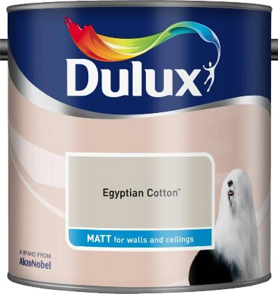 2.5 Litre Matt Emulsion - Egyptian Cotton – Now Only £14.00