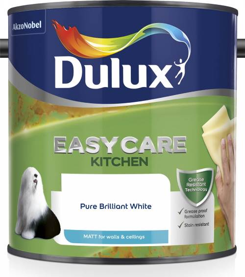 Dulux Easycare Kitchen + Matt PBW 2.5L – Now Only £18.00
