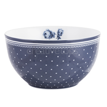 Vintage Indigo Spot Cereal Bowl – Now Only £7.00