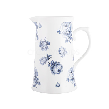 Vintage Indigo Large Floral Jug – Now Only £15.00