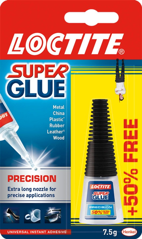 Precision Super Glue 5g Plus 50% – Now Only £3.00