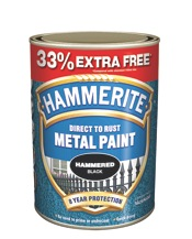 Metal Paint 750ml + 33% - Hammered Black – Now Only £15.00