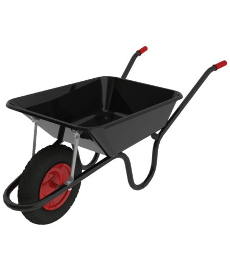Camden Classic Black 85L Pneumatic Barrow – Now Only £35.00