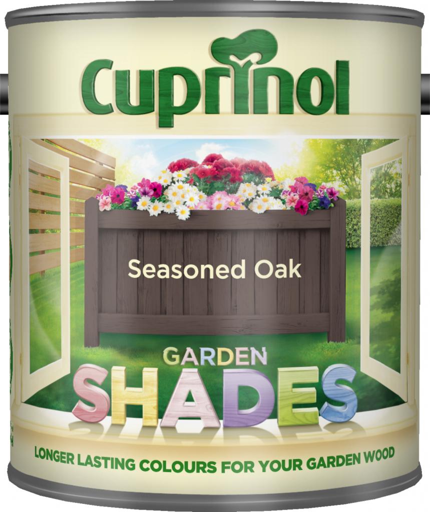Garden Shades 1L  - Seasoned Oak – Now Only £10.00