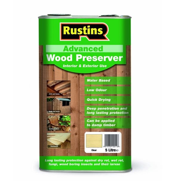 Advanced Wood Preserver Clear 1L – Now Only £6.50