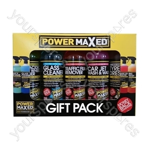 Power Maxed Car Valet Gift Pack – Now Only £10.00