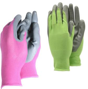 Weed master gloves - Ladies - Pink & Lime  – Now Only £3.00