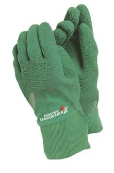Master garden gloves - Mens Large - Green – Now Only £4.00