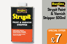 Strypit Paint & Varnish Stripper 500ml – Now Only £7.00