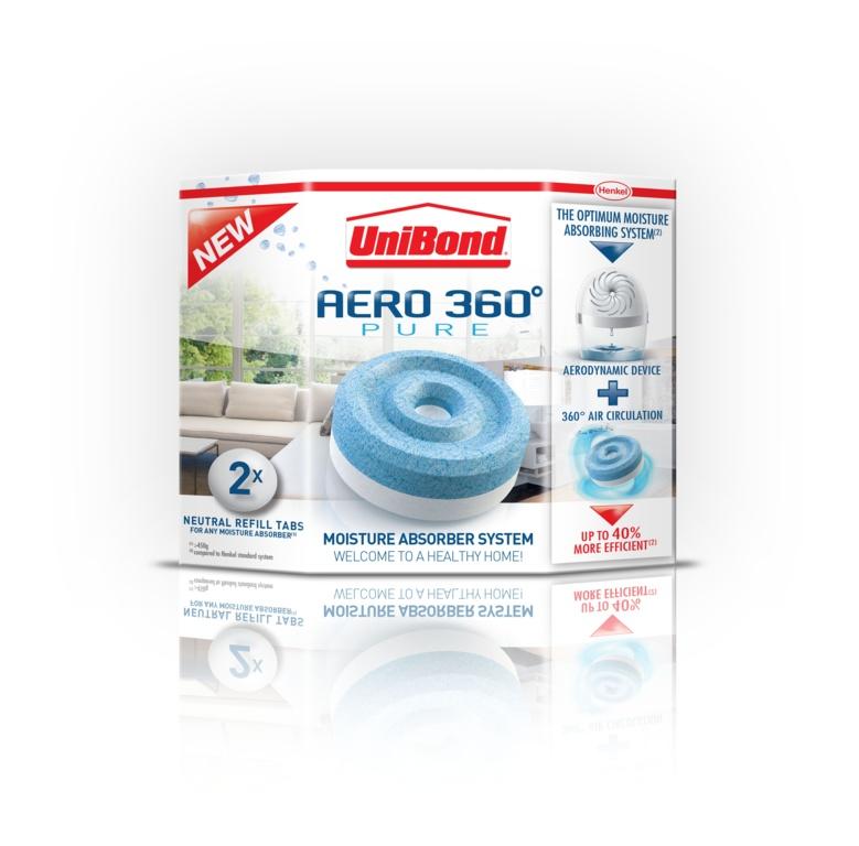 Aero 360 Moisture Absorber Refill 2 x 450g Original – Now Only £6.00