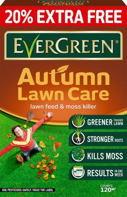 Autumn Lawncare 100sqm + 20% free – Now Only £10.00