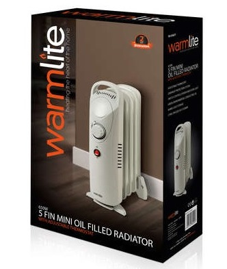 650W Oil Filled Radiator – Now Only £20.00