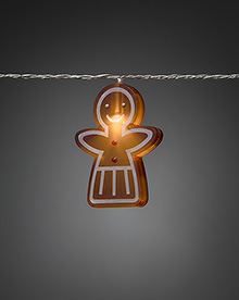 Mini Light Set 8 Gingerbread Children - Girls – Now Only £15.00