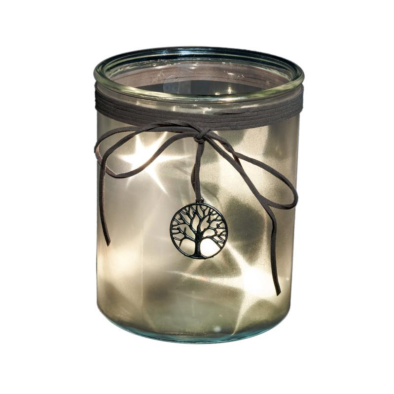 15cm Battery Lit Star effect tree lantern – Now Only £9.00