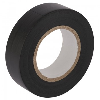20M x 19mm Black Insulation Tape to BS3924 and BS4J10 Specifications