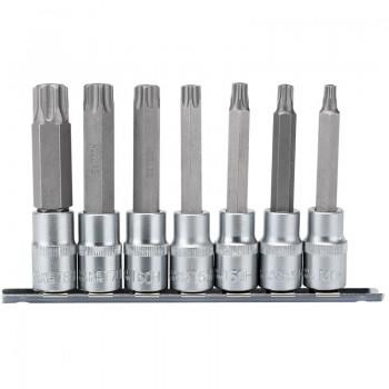 "1/2"" Sq. Dr. Draper TX-STAR® Security Socket Bit Set (7 Piece)"