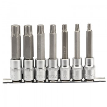"1/2"" Sq. Dr. Draper TX-STAR® Plus Socket Bit Set (7 Piece)"