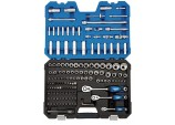 """1/4"""", 3/8"""" and 1/2"""" Sq. Dr. Metric Socket and Socket Bit Set (149 piece)"""