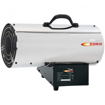 Jet Force, Stainless Steel Propane Space Heater (85,000 BTU/25kW)