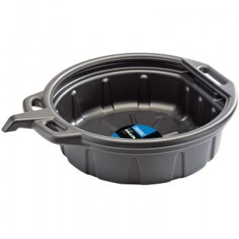 16L Fluid Drain Pan - Black