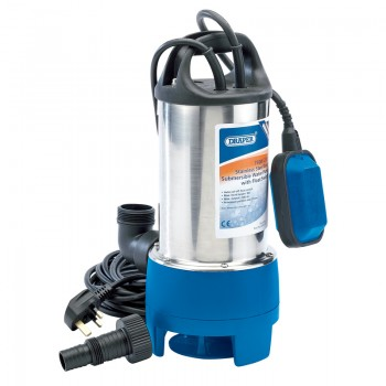 208L/Min Stainless Steel Submersible Dirty Water Pump with Float Switch (750W)