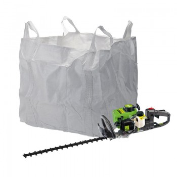 Petrol Hedge Trimmer and Waste Bag