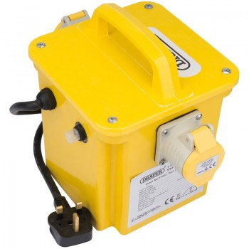 1.5kVA 230V to 110V Portable Site Transformer
