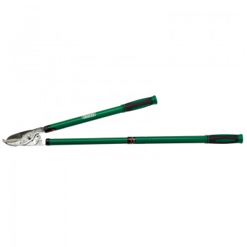 Telescopic Heavy Duty Lever Action Anvil Loppers with Steel Handles