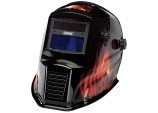 Solar Powered Auto-Varioshade Welding and Grinding Helmet-Flame